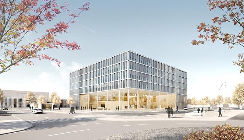 Projekt: Thyssen Krupp Aufzugswerk Neuhausen von Kaspar Kraemer Architekten, Köln