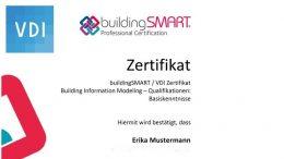 Qualifizierung im Bereich Building Information Modeling