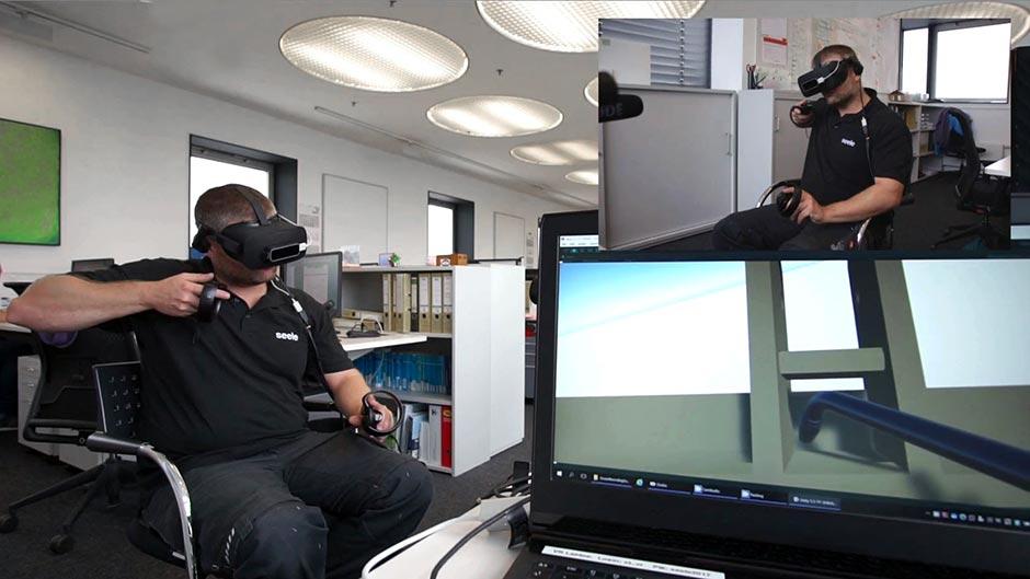 Use Case 2: Virtuelle Prüfung von Schweißkonstruktionen am digitalen Zwilling. Foto: seele