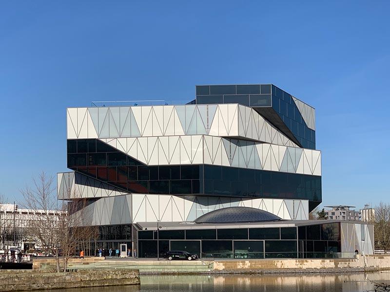 experimenta Heilbronn:Effizienz dank Building Information Modeling