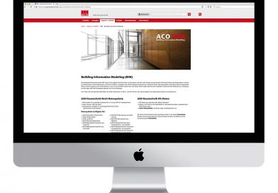 ACO Haustechnik ist seit 2018 zu 100% BIM-fähig. Bildquelle: ACO Passavant GmbH