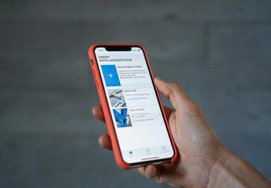 Geberit bietet zahlreiche mobile und stationäre digitale Tools zur Informationsbeschaffung, die rund um die Uhr verfügbar sind. Foto: Geberit