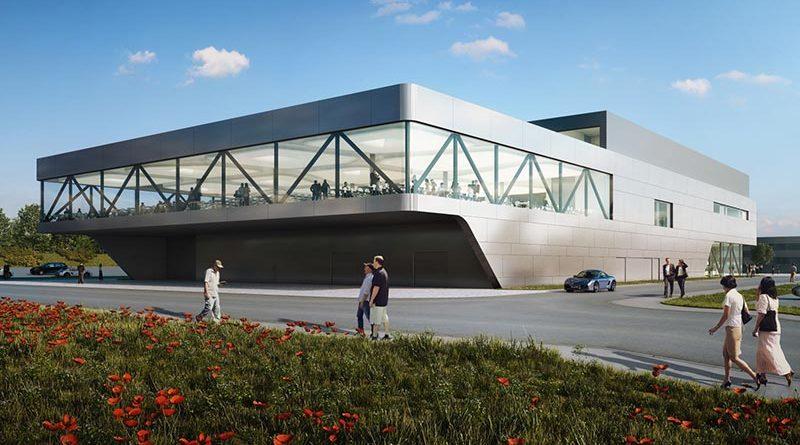 Das Porsche Casino in Weissach war eines der umfangreichsten BIM-Pilotprojekte für Wolff & Müller. Bild: asp Architekten