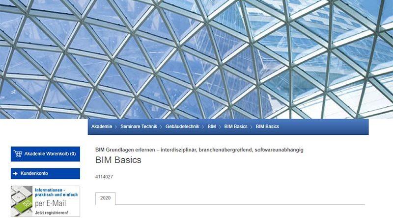 TÜV SÜD Akademie und Advimo veranstalten BIM Basics Seminar
