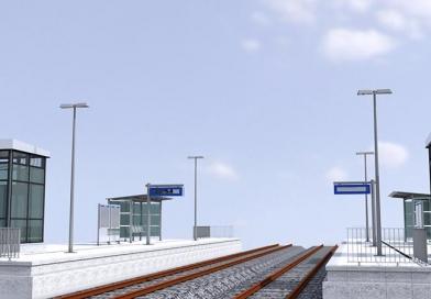 Die Projektvorlage von ALLPLAN für die Bahnsteigplanung beinhaltet zahlreiche Features und Vorlagen, die den gesamten Workflow der Planung, Modellerstellung, Auswertung, Dokumentation und Datenübergabe unterstützen. Bildquelle: Allplan
