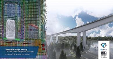 Bestes BIM-Projekt und Bestes Infrastrukturprojekt: Randselva-Brücke – Norwegen