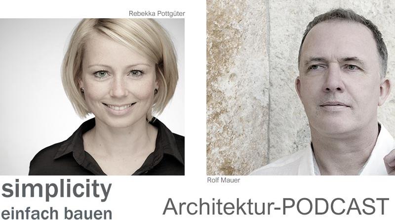 """Podcast """"simplicity – einfach bauen"""""""
