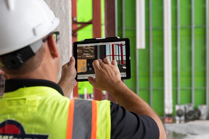 Die Visualisierung der Planung auf der Baustelle mit BIM360docs.