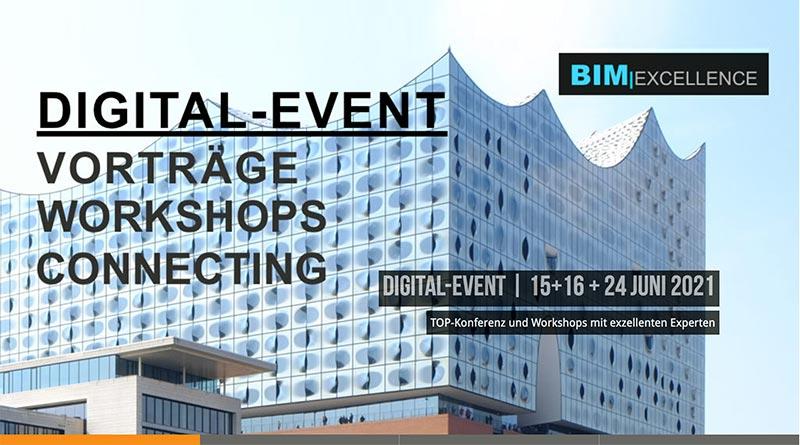 Solibri-Digitalkonferenz: BIM I Excellence vom 15. – 16. Juni 2021